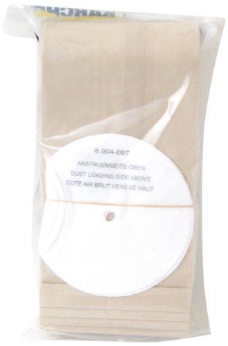 Kärcher 6.906-118 Papierfiltertüten T 201, 10 Stück