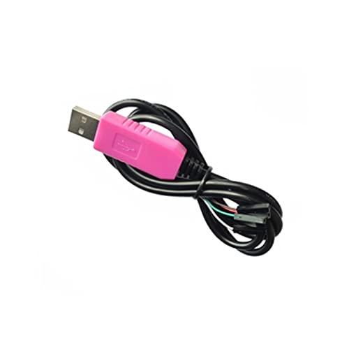 NICEDINING NEDINGING Industrielles elektrisches Zubehör 1M CP2102 USB bis UART TTL-Kabelmodul 4 Pin 4P Serial Adapter Download Kabelmodul für Win10 für Raspberry Pi (Color : 5Pin)