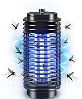 Lámpara antimosquitos eléctrica para interior y exterior de 2 W, repelente de mosquitos, antimosquitos, zapper, no tóxica, trampa mosquitos, bombilla