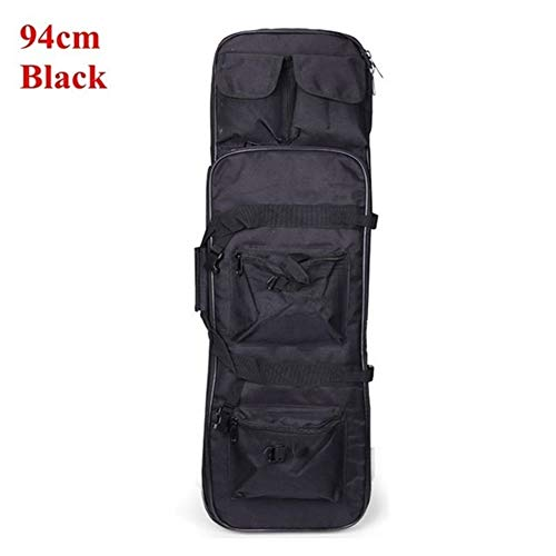 Affordable Shefure 81/94/118cm Gun Bag Hunting Rifle Gun Case Outdoor Shooting Hunting Military Airsoft Holster Rifle Bag Carrying Storage Holster (Color : Black 94cm)
