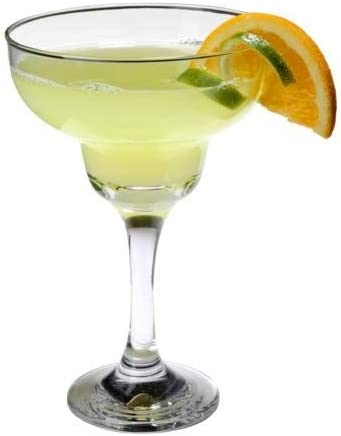 SET of Max 56% OFF 4-pc 'Elegance' 9 Deluxe Oz Margarita Crystal-Clear Juice Soda