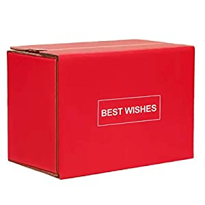 Kraft Corrugated Box Mailers – Self Stick Shipping Boxes Cardboard Box Zipper Box Small Mailing Boxes for Shipping (Pack…