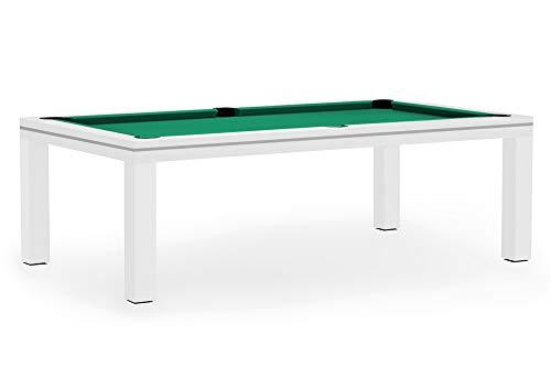 Dynamic Billardtisch, Pool, Mozart, 7 ft. (Fuß), matt-weiß