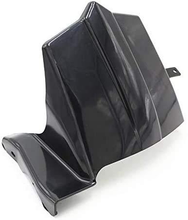 one by Camamoto cod. 77380031 passa ruota para spruzzi sotto coda parafango posteriore colore nero compatibile con yamaha t-max 530cc anno dal 2012 al 2016