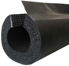 BriskHeat INSUL312 Insul Insul-Lock 3-1/2 in (89 Mm) Double Seal Tube with PVC Overlap Tape - Flexible Pipe Insulation