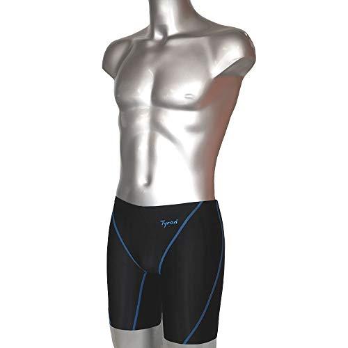 Tyron Master Line Tight FINA (blau) | Badehose für Herren & Jungen | Schwimm Training und Wettkampf | Jammer | Tight | knielange Schwimmhose