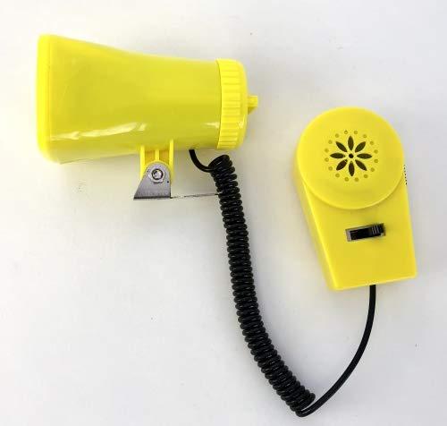 Classic Cycle Kojak Batterie-Sirene, mit Micro, DREI Verschiedene Sirenen gelb