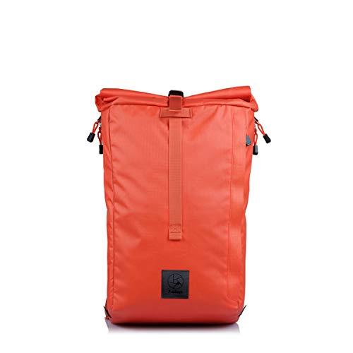 f-stop – Dalston 21L Roll Top Camera Backpack for DSLR, Mirrorless, Urban, Travel Photography (Nasturtium Orange)