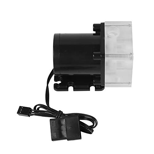 Tangxi G1/4 Thread CPU Water Pump 12V DC Ultra-Quiet Computer Water Cooling System for PC 500L/H