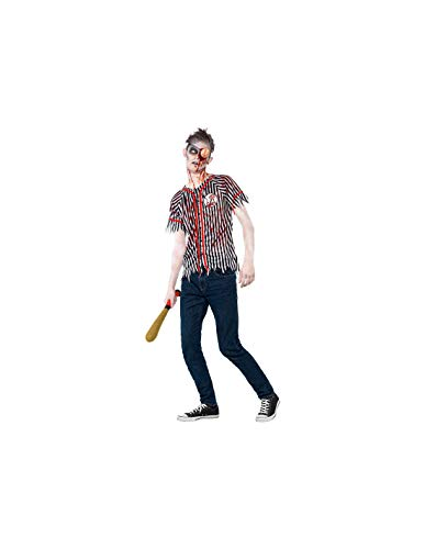 DISBACANAL Disfraz Jugador béisbol Zombie - -, XS