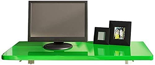 LIHUA Mesa plegable de pared pequeña plegable plegable simple montaje en pared escritorio de computadora plegable contra el simple escritorio de pared, paneles de madera, 4 colores 7 tamaños WRTY