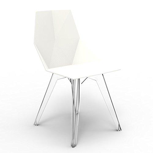 Set 4 Vondom Faz Chair Blanco