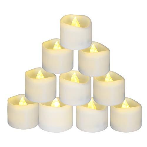 12 Velas Led Pequeñas, flintronic ® Velas Led de Té Velas Eléctricas...