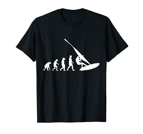 Windsurfistas Evolución Windsurf Tablista Camiseta