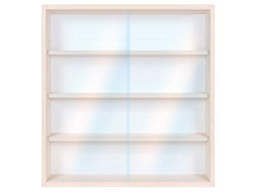 Shisha Tabak Vitrine Setzkasten für Aufbewahrung Kiste V07 Wasserpfeife Dampfsteine Regal Holzvitrine 50 x 52 x 12 cm