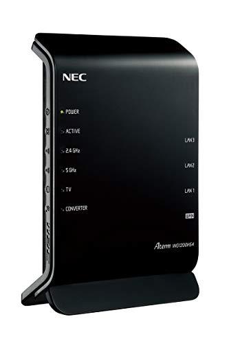 NEC 無線ルータ PA-WG1200HS4