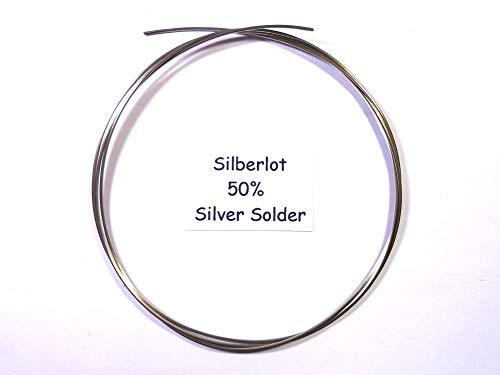 Silberlot 5 Gramm für Schmuck 50% Weich, Silver Solder