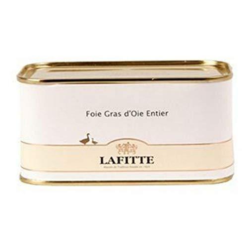 Foie Gras de Oca Lafitte Entero - Peso 130 gramos, sin conservantes ni aditivos. Disfruta del auténtico sabor de foie de oca