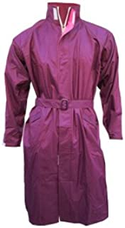 Prince Hooded Perfect Overcoat for Women's, Wine