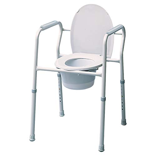 Silver Collection 3-in-1 Steel Commode