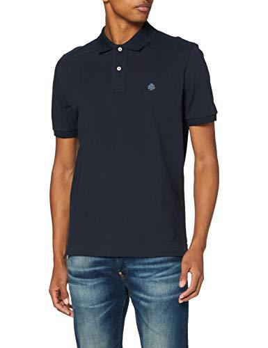 Springfield Herren 8551057t8 Poloshirt, Blau, S
