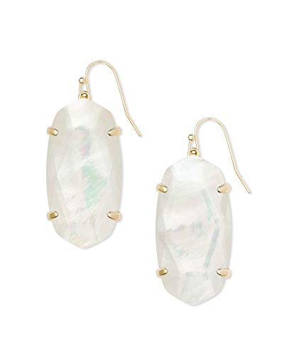 Kendra Scott Esme Earrings Gold/Ivory Mother-Of-Pearl One Size