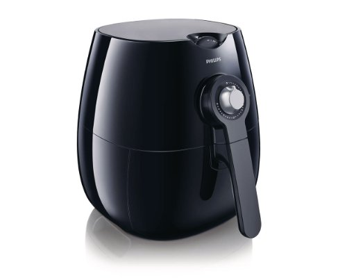 Philips Starfish Technology Airfryer, Black - 1.8lb/2.75qt-...