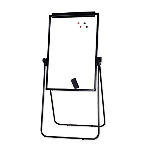 Tableau à rabat magnétique double face ajustez la hauteur entre 39 pouces et 68 2 pouces y compris les accessoires tels que les clips et les porte-stylos adapté pour le bureau l'enseignement