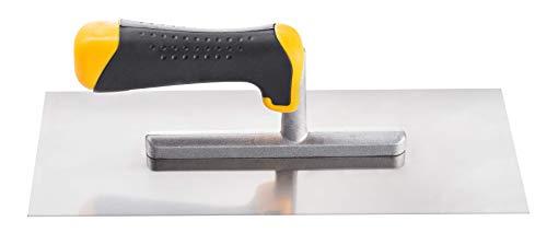 Llana cuadrada para ALICATADOS de 8, 10, 12 mm, llana adhesiva de acero inoxidable, esparcidor, 28 x 12 cm