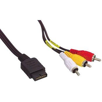 Audio-Video-Kabel für PS1 / 2 / 3, TV / AV, vergoldet