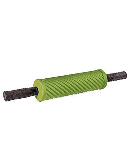 PINOFIT® Faszienrolle® Stick Lime Gruen 43173 incl. Microfasertuch von Carmesin.com