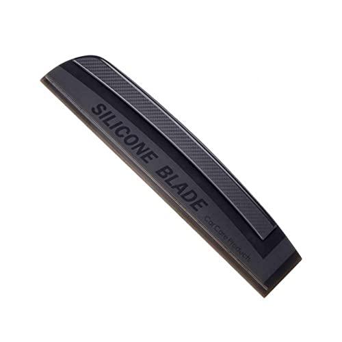 Kakalote Escobilla de limpiaparabrisas para automóviles, de secado rápido, de silicona para coche, limpiacristales de coche,...