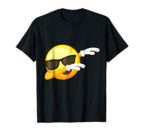 Funny Dabbing Emoji Shirt - Cool Emoji Dab T-Shirt