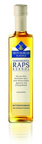 Teutoburger Rapsöl mit Butteraroma , 500 ml