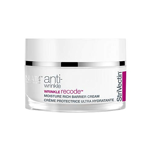 StriVectin Anti-Wrinkle Wrinkle Recode Moisture Rich Barrier Cream with Ceramides, Reduces Fine Lines And Redness, 1.7 Fl Oz
