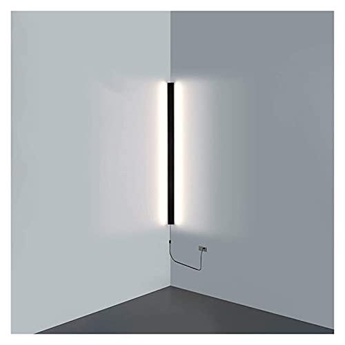 Lámpara de pared Lámpara de pared LED de esquina minimalista moderna Interior Línea simple Luz Apliques de pared Escalera Dormitorio Mesita de noche Decoración del hogar Accesorios de iluminación