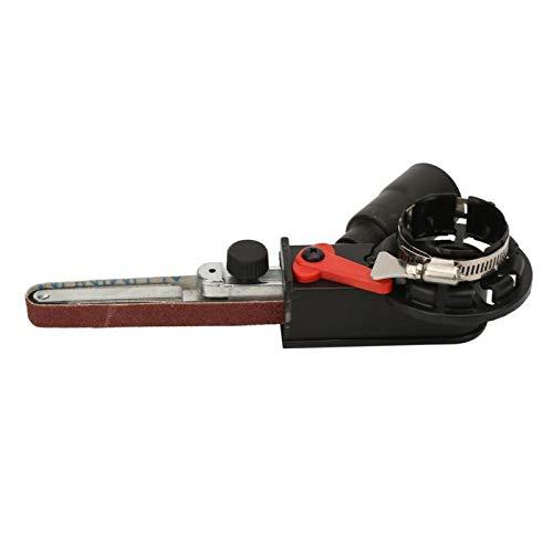 Cabezales de trabajo intercambiables Lijadora Adaptador de correa de lijado Piezas de herramientas eléctricas Accesorio de taladro para amoladora angular eléctrica(M14)