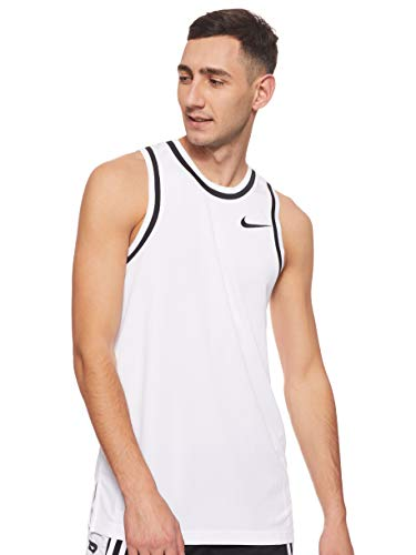 Nike Mens Dry Classic Jersey White/Black MD