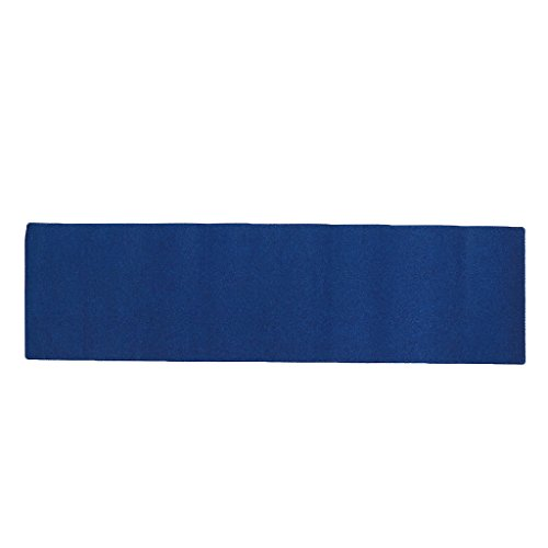T TOOYFUL Pro Rutschfestes Skateboard Longboard Farbiges Sandpapier Grip Tape Griptape Deck - Blau, 84 x 23 cm