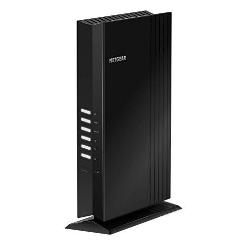 NETGEAR WiFi 6 Mesh Range Extender (EAX20) – Lägg till 20+ enheter på upp till 139 m2 med AX1800 Dual-Band trådlös signalbooster och repeater (hastighet på upp till 1,8 Gbit/s) samt Smart roaming