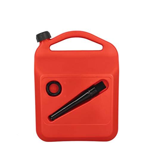 SUMEX PETRO10 Bidón de Gasolina o Combustible de 10 litros Homologado, con Tubo y Visor de Nivel, 10 L