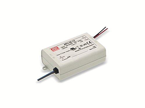LED Netzteil 25W 5V 5A ; MeanWell, APV-35-5 ; Schaltnetzteil