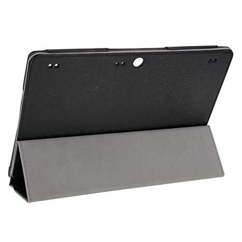 Herramientas de reparación, ajuste perfecto y trab La textura de alambre de acero magnético del caso del tirón del cuero horizontal con soporte plegable de tres for Lenovo Tab 2 A10-70 / A7600, todos