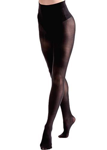 Couture zwarte ondoorzichtige panty glitter, Body Shaping, Comfort, verduistering 40-100 Denier
