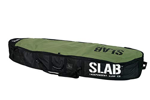 Slab-Funda Travel Army/Black 3/4 Tablas (6'6 x 23'' x 9'')