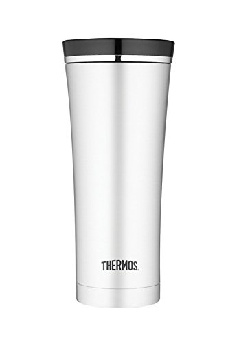 Thermos Isoliertrinkbecher Tumbler Sipp, Silber, 0.5 Liter