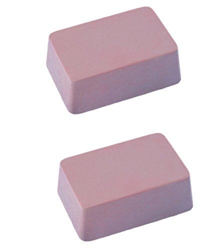 Nobby - 2St Mineralstein für Vögel Länge ca 7cm Breit ca 4,3cm Tiefe ca 2,7cm für Wellensittiche,Agaporniden und Großsittiche (4,00 €/St.)