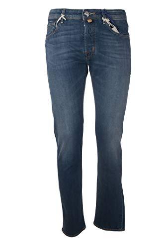 Jacob Cohen Jeans 5 Taschen Bein Fit Slim Fit Code J68800676W1-JeansSlimTelaStrech-001hellblau, Blau 26