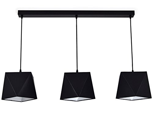 299 Deckenleuchte Tischlampe Hängelampe Wandlampe Lampe (Hängelampe Z3, Lampenschirm Weiß)
