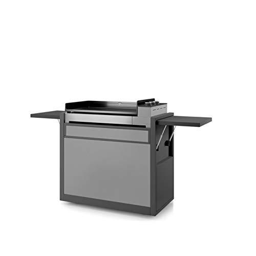 Forge Adour - chpafng75 - Chariot pour plancha Noir/Gris Clair Chariot Premium